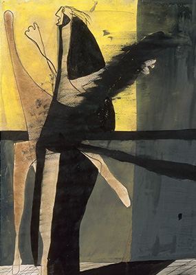 Francis Bacon, Composition (Figure), 1933
