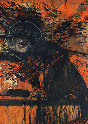 Francis Bacon, Man in a Cap, c. 1945