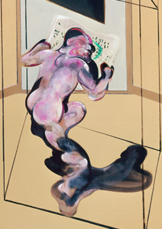 Francis Bacon, Figure in Movement, 1972