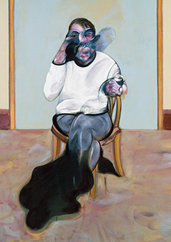 Francis Bacon, Three Portraits - Posthumous Portrait of George Dyer; Self-Portrait; Portraits of Lucian Freud, 1973
