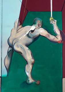 Francis Bacon, Study from the Human Body (Man Turning on Light), 1973