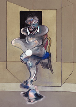 Francis Bacon, Study for Self-Portrait, 1976