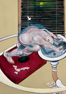Francis Bacon, Figure at a Washbasin, 1976