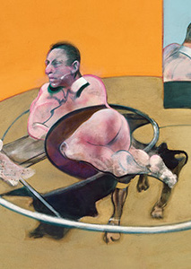 Francis Bacon, Lying Figure, 1977