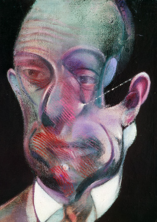 Francis Bacon, Study for a Portrait (Michel Leiris), 1978