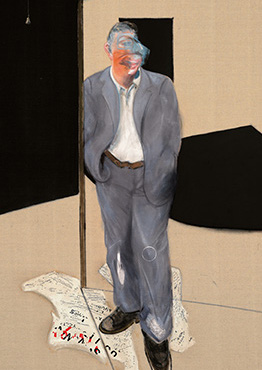 Francis Bacon, Study of a Man Talking, 1981