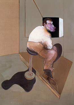 Francis Bacon, Study for a Portrait of John Edwards, 1985