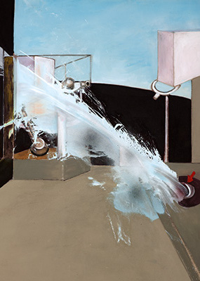Francis Bacon, Jet of Water, 1988