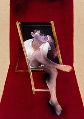 Francis Bacon, Study for Portrait of John Edwards, 1989