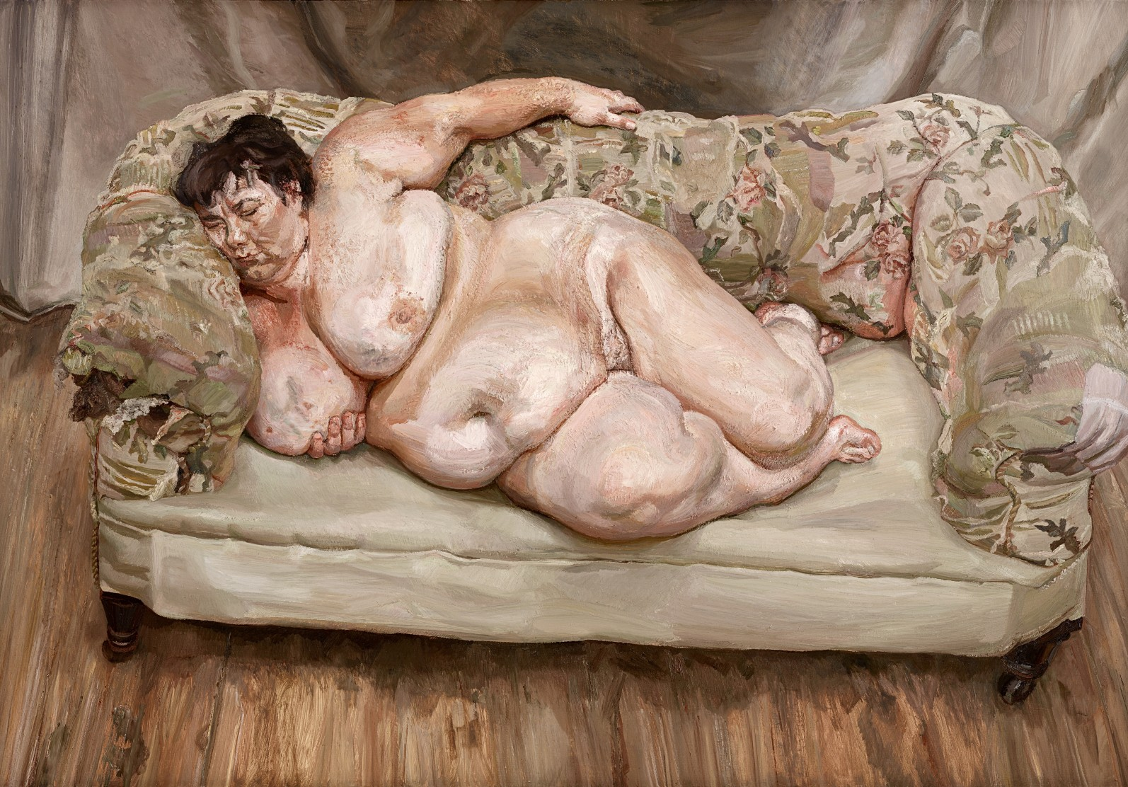 Lucian Freud, Benefits Supervisor Sleeping, 1995