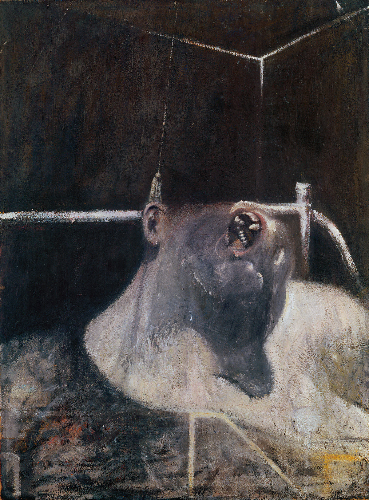 ncis Bacon, Head I, 1948. Oil and tempera on hardboard. CR number 48-01. © The Estate of Francis Bacon / DACS London 2019. All rights reserved.ncis Bacon, Head I, 1948. Oil and tempera on hardboard. CR number 48-01. © The Estate of Francis Bacon / DACS London 2019. All rights reserved.
