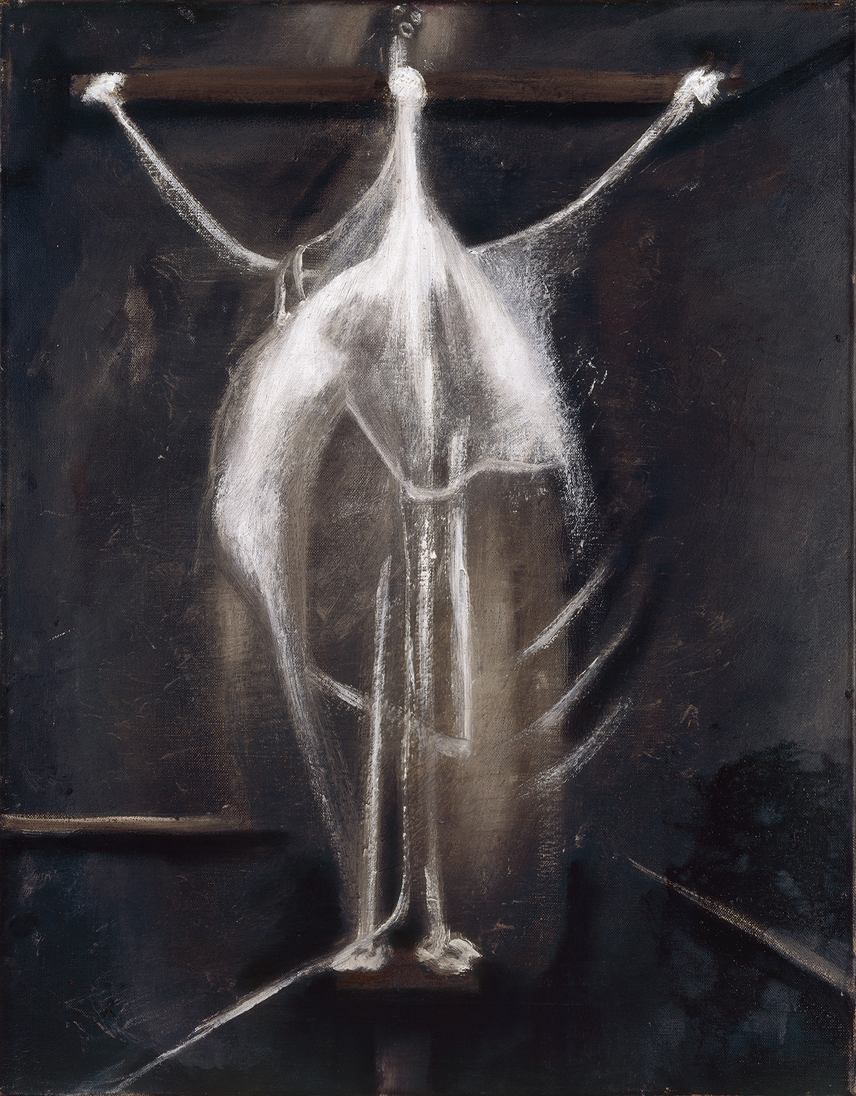 Francis Bacon, Crucifixion, 1933. Watercolour, gouache, pencil and black ink on paper. CR number 33-01. © The Estate of Francis Bacon / DACS London 2020. All rights reserved.