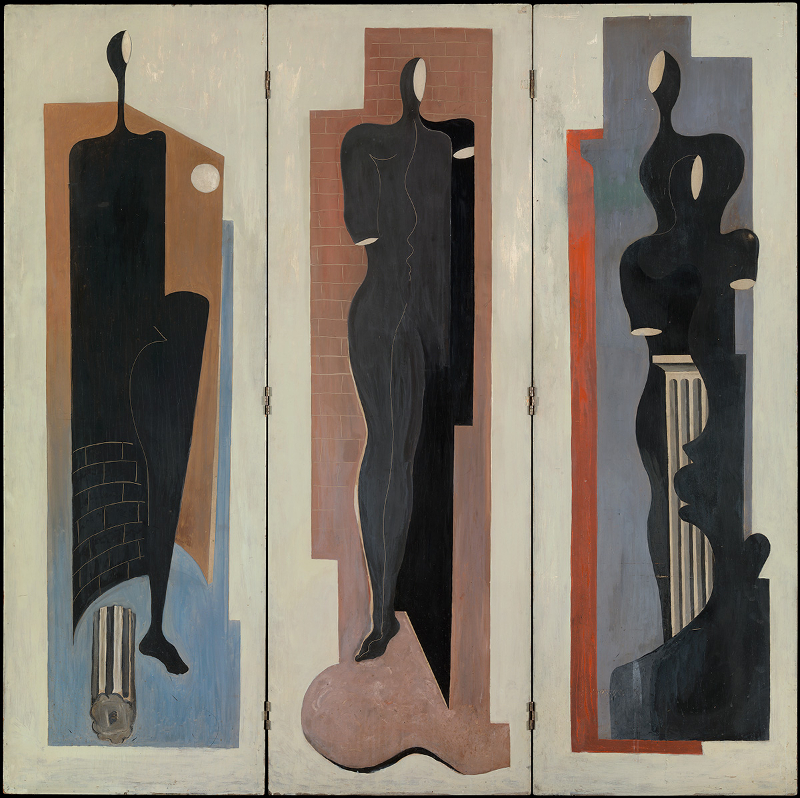 Decorative image: Francis Bacon 'Painted Screen' c.1930.