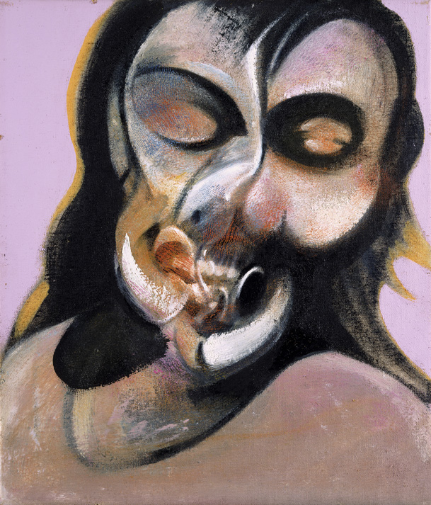 Decorative image: Francis Bacon's Study of Henrietta Moraes, 1969