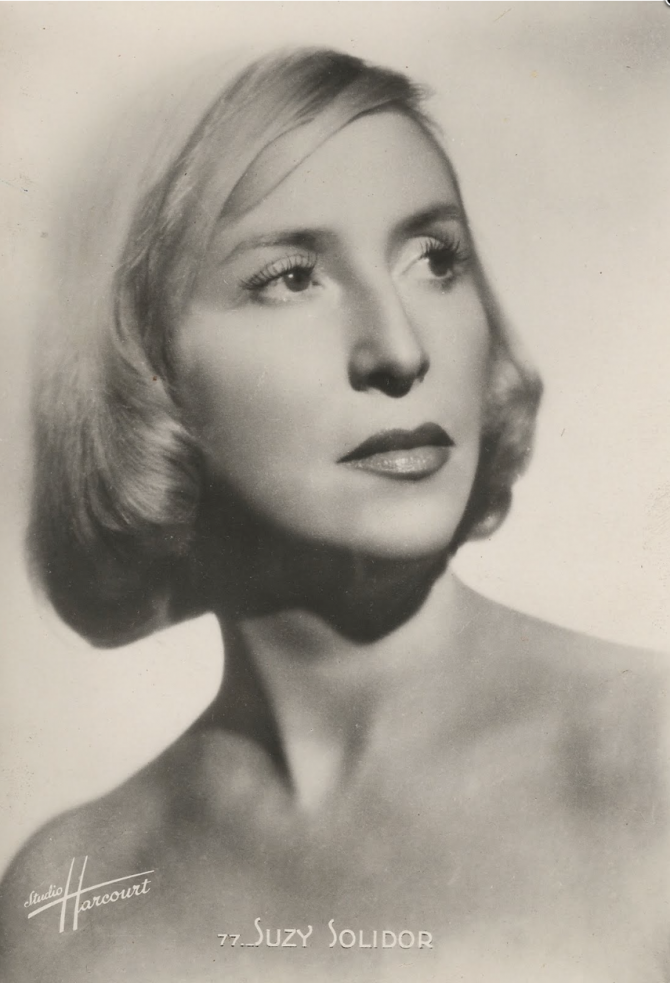 Photograph of Suzy Solidor, by Studio Harcourt