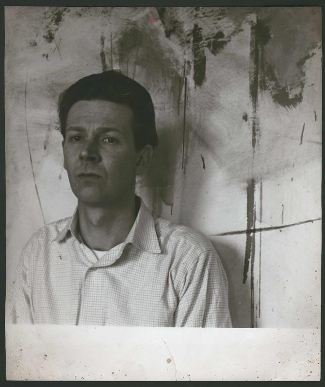 Photograph of Michael Andrews, by John Deakin