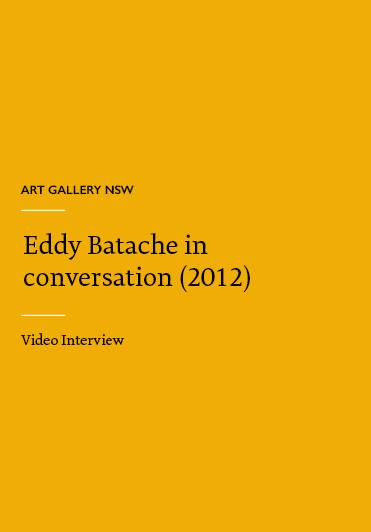 Eddy Batache in conversation with Anthony Bond