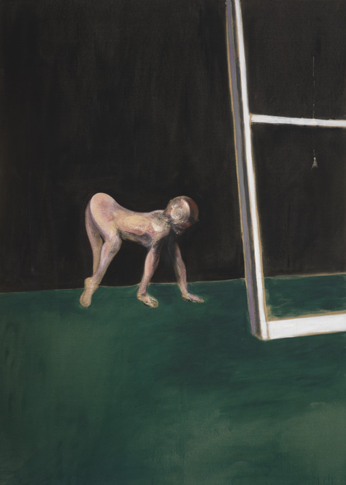 Francis Bacon, 'Paralytic Child Walking on all Fours (from Muybridge)' 1961, oil on canvas, © The Estate of Francis Bacon / DACS London 2013. All rights reserved.