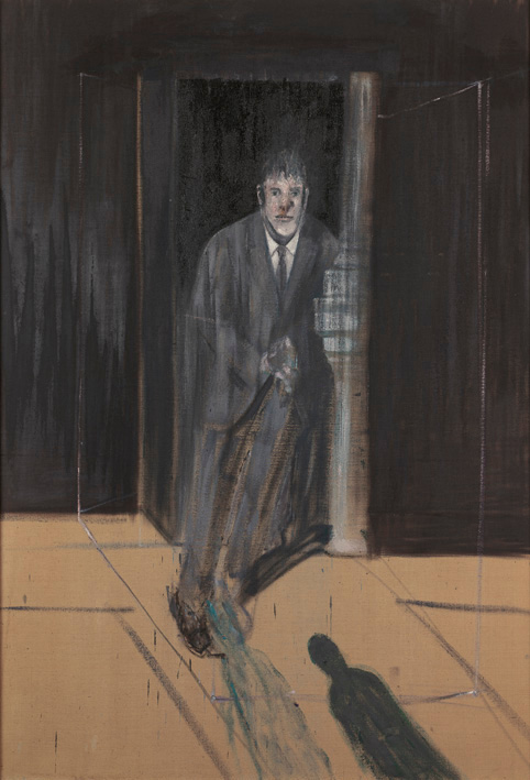Francis Bacon, 'Portrait of Lucian Freud', 1951, oil on canvas. © The Estate of Francis Bacon / DACS London 2014. All rights reserved.
