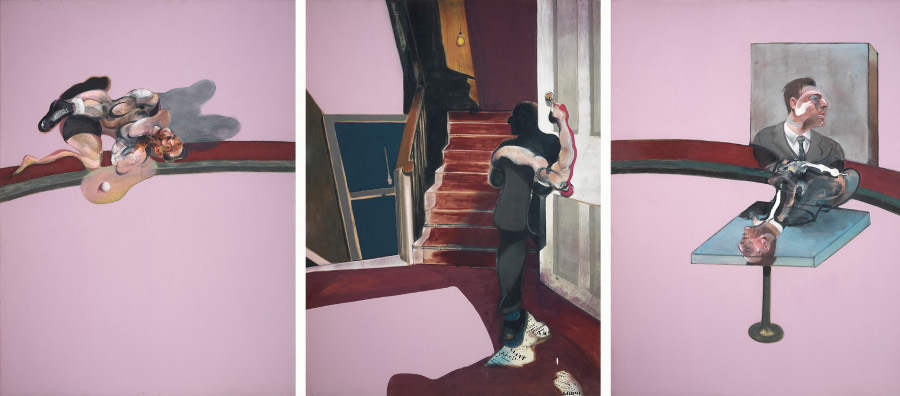 Francis Bacon, 'In Memory of George Dyer', 1971, © The Estate of Francis Bacon / DACS London 2014. All rights reserved.