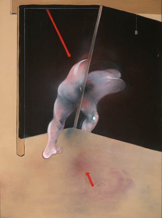 Francis Bacon, 'Study from the Human Body' 1981, oil on canvas © The Estate of Francis Bacon / DACS London 2014. All rights reserved.