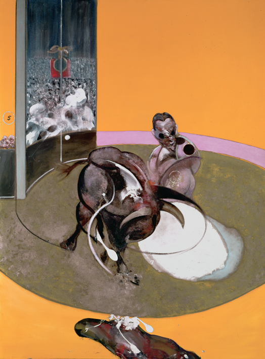 Francis Bacon, 'Study for Bullfight no 2' 1969, Oil paint on Canvas. © The Estate of Francis Bacon / DACS London 2014. All rights reserved.
