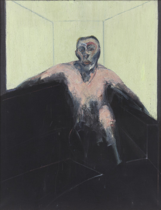 Francis Bacon, 'Study for Portrait of P.L. No2', 1957, © The Estate of Francis Bacon / DACS London 2014. All rights reserved.