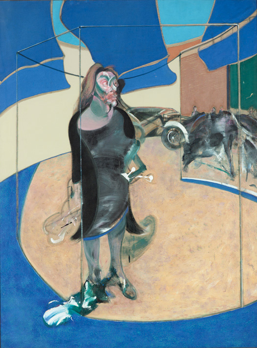 Image: Francis Bacon, 'Portrait of Isabel Rawsthorne Standing in a Street in Soho', 1967, oil on canvas, © The Estate of Francis Bacon / DACS London 2014. All rights reserved.