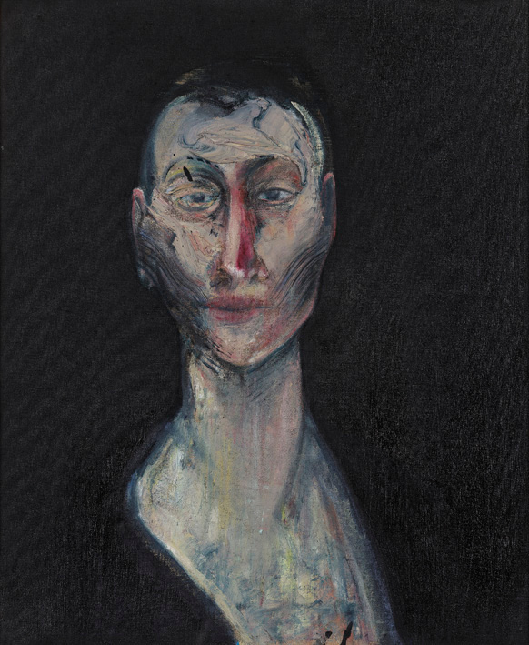 Francis Bacon, Portrait of Lisa, 1957. Oil on canvas. Robert and Lisa Sainsbury Collection. © The Estate of Francis Bacon / DACS London 2015. All rights reserved.