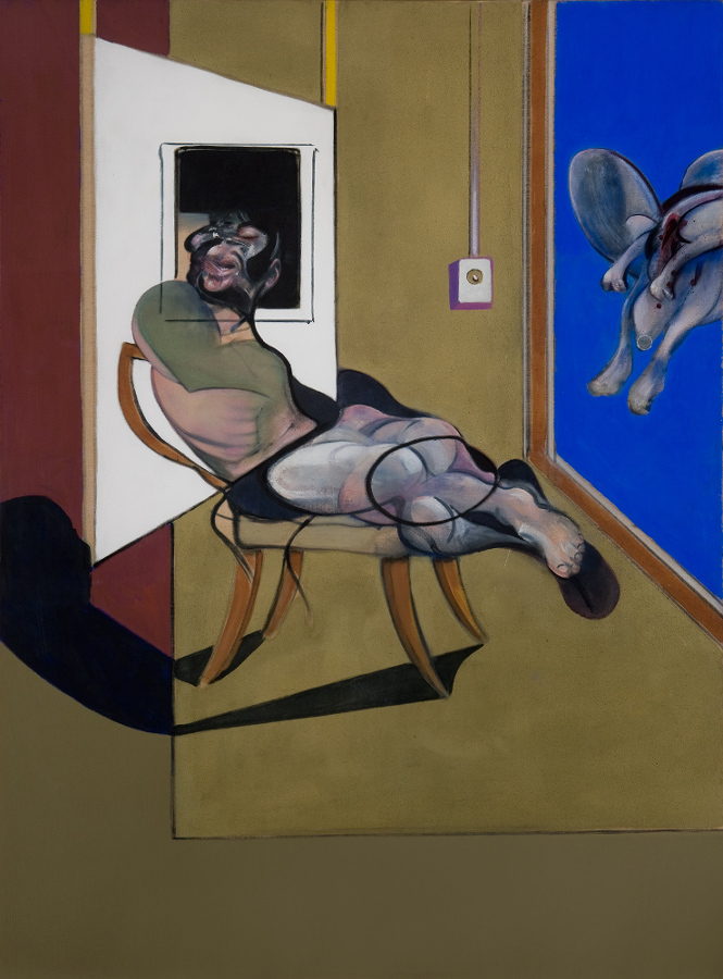 Francis Bacon, Seated Figure, 1974. Oil on canvas. © The Estate of Francis Bacon / DACS London 2015. All rights reserved.