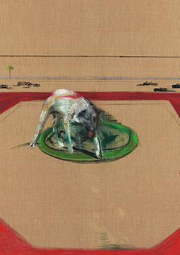 Francis Bacon, Dog, 1952
