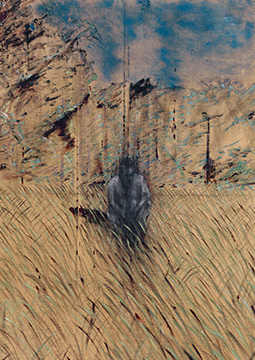 Francis Bacon, Study of Figure in a Landscape, 1952