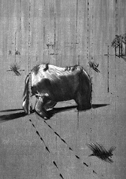 Francis Bacon, Rhinoceros, 1952