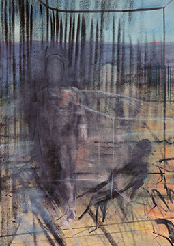 Francis Bacon, 'Figures in a Landscape', c. 1952