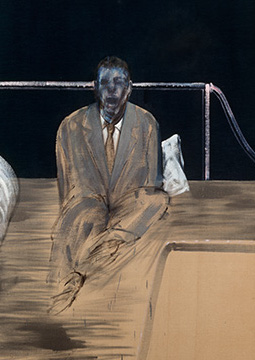 Francis Bacon, Study for Figure II, 1953