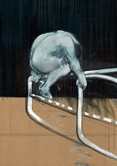 Francis Bacon, Study of Figure in a Room, 1953