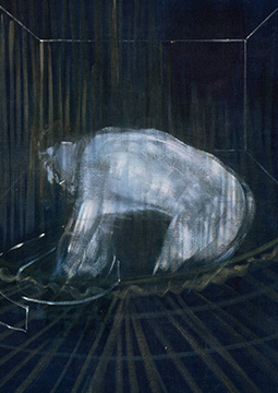 Francis Bacon, 'Man at a Washbasin', c. 1954