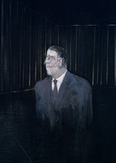 Francis Bacon, Man in Blue II, 1954