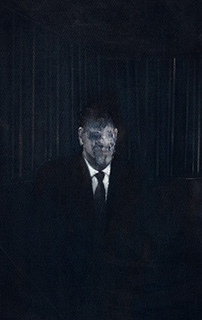 Francis Bacon, Man in Blue III, 1954