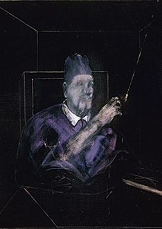 Francis Bacon, Pope, 1954