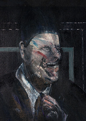 Francis Bacon, Small Study for Portrait, 1955