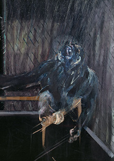 Francis Bacon, Chimpanzee, 1955