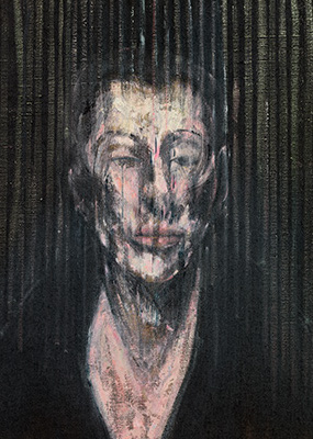 Francis Bacon, Sketh for a Portrait of Lisa, 1955