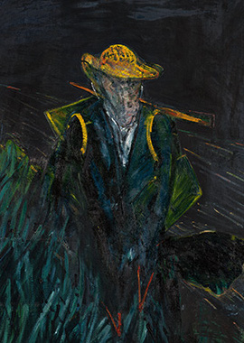 Francis Bacon, Study for Portrait of Van Gogh I, 1956