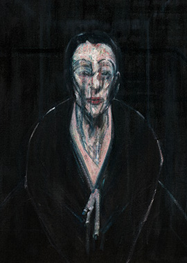 Francis Bacon, Portrait of Lisa, 1956