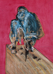 Francis Bacon, Study for Chimpanzee, 1957