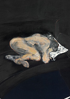 Francis Bacon, Study for Portrait of P.L. No. 1, 1957