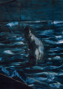 Francis Bacon, 'Figure in Sea', c.1957