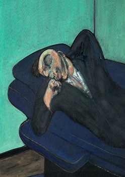 Francis Bacon, Lying Figure, 1958