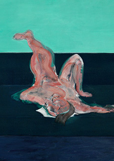 Francis Bacon, Lying Figure, 1959